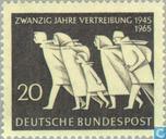 Timbres-poste - Allemagne, République fédérale [DEU] - Réfugiés de l'Est 1945-1965