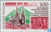Postage Stamps - France [FRA] - Congress stamp collectors