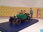 """Modelauto's  - Atlas - Citroën Torpedo van de Jansens uit """"Kuifje en het Zwarte Goud"""""""