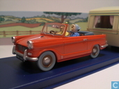 "Model cars - Atlas - De Triumph Herald uit ""De zwarte rotsen"""