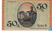 Billets de banque - Borna, Amtshauptmannschaft - Borna, Amtshauptmannschaft 50 Pfennig ND (1919)