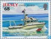 Timbres-poste - Jersey - Bateaux
