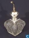 Parfumflesjes - Onbekend - Victoriaanse parfumfles geslepen glas