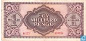 Billets de banque - Hongrie - 1945-1946 Pengö Issue - Hongrie 1 Milliard Pengö 1946