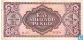 Banknotes - Hungary - 1945-1946 Pengö Issue - Hungary 1 Billion Pengö 1946