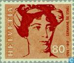 Postzegels - Zwitserland [CHE] - Bekende personen
