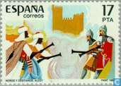 Postage Stamps - Spain [ESP] - Moors and Christians Festival