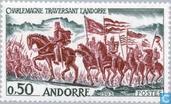 Timbres-poste - Andorre - Poste française - Histoire