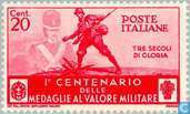 Postage Stamps - Italy [ITA] - Medal for bravery