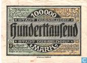 Dusseldorf 100.000 Mark 1923