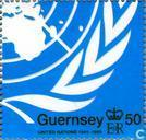 Timbres-poste - Guernesey - UNO 1945-1995
