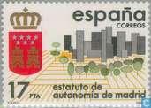 Postage Stamps - Spain [ESP] - Autonomy Madrid