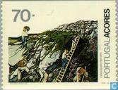 Postage Stamps - Azores - Occupations