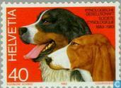 Postage Stamps - Switzerland [CHE] - Canine association 100 years
