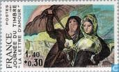 Postage Stamps - France [FRA] - Painting Goya