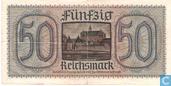 Billets de banque - Reichskreditkassen - Allemagne 50 Reichsmark