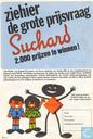 Strips - Robbedoes (tijdschrift) - Reklamefolder Suchard Chocolade