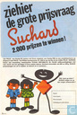 Bandes dessinées - Robbedoes (tijdschrift) - Reklamefolder Suchard Chocolade