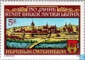 Postzegels - Oostenrijk [AUT] - Bruck a/d Leitha 750 jaar