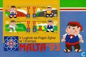 Postage Stamps - Malta - Play small European states