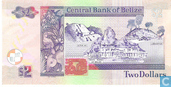Banknotes - Central Bank of Belize - Belize 2 Dollars