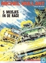 Bandes dessinées - Michel Vaillant - 5 Meisjes in de race