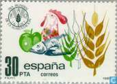 Postage Stamps - Spain [ESP] - World Food Day