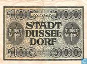 Billets de banque - Düsseldorf - Stadt - Mark Dusseldorf 100.000
