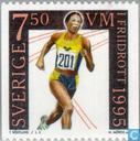Postage Stamps - Sweden [SWE] - Athletics World Championships