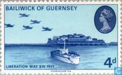 Postage Stamps - Guernsey - Liberation 1945-1970