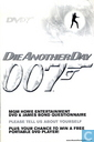 Die Another Day - MGM Home Entertainment DVD & James Bond Questionnaire