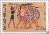 Postage Stamps - Greece - NAVO1949-1969