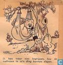 Strips - Bommel en Tom Poes - [Heer Bommel in een hangmat]