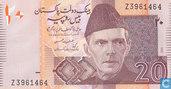 Pakistan 20 Rupees 2005