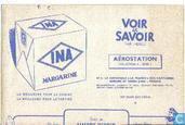 Bandes dessinées - Kuifjesbon producten - Chromo Aerostation INA reclame