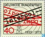 Postage Stamps - Germany, Federal Republic [DEU] - Interpol 1923-1973