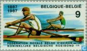Postage Stamps - Belgium [BEL] - Sport (100 years Royal Belgian Rowing Federation)