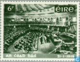 Briefmarken - Irland - Nationalversammlung 1919-1969
