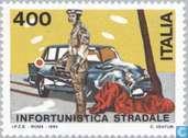 Postzegels - Italië [ITA] - Verkeersveiligheid