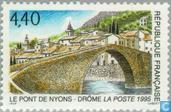 Postage Stamps - France [FRA] - Eygues-bridge at Nyons
