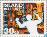 Postage Stamps - Iceland - Arts and Culture