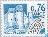 Postage Stamps - France [FRA] - Castle of Angers