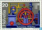 Postage Stamps - Switzerland [CHE] - Opening Technorama