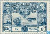 Postage Stamps - Portugal [PRT] - First flight Lisbon Brazil