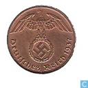 Monnaies - Allemagne - Empire Allemand 1 reichspfennig 1937 (F)