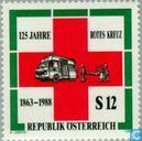 Postage Stamps - Austria [AUT] - 125 years red cross