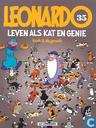 Strips - Leonardo - Leven als kat en genie