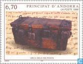 Postage Stamps - Andorra - French - Arts and crafts