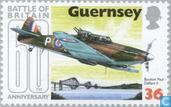Postage Stamps - Guernsey - 1940 Battle of Brittain