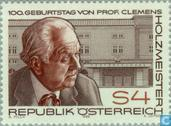 Postage Stamps - Austria [AUT] - Clemens Holzmeister, 100 years
